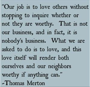 Thomas Merton Love