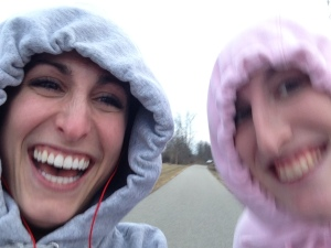We may or may not have started off jogging when we realized that was a poor life decision...